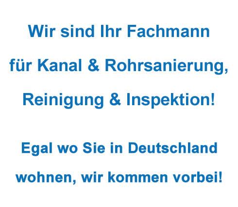 Einwandfreie Kanalsanierung Untersteinach - Hamm-Notdienst24: Kanalreinigung, Reparatur, Sanierung, Dichtheitsprüfung, Inspektion